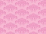 Pink seamless pattern with floral ornament for making damask wallpapers and textile print. Vintage style. Vector illustration.